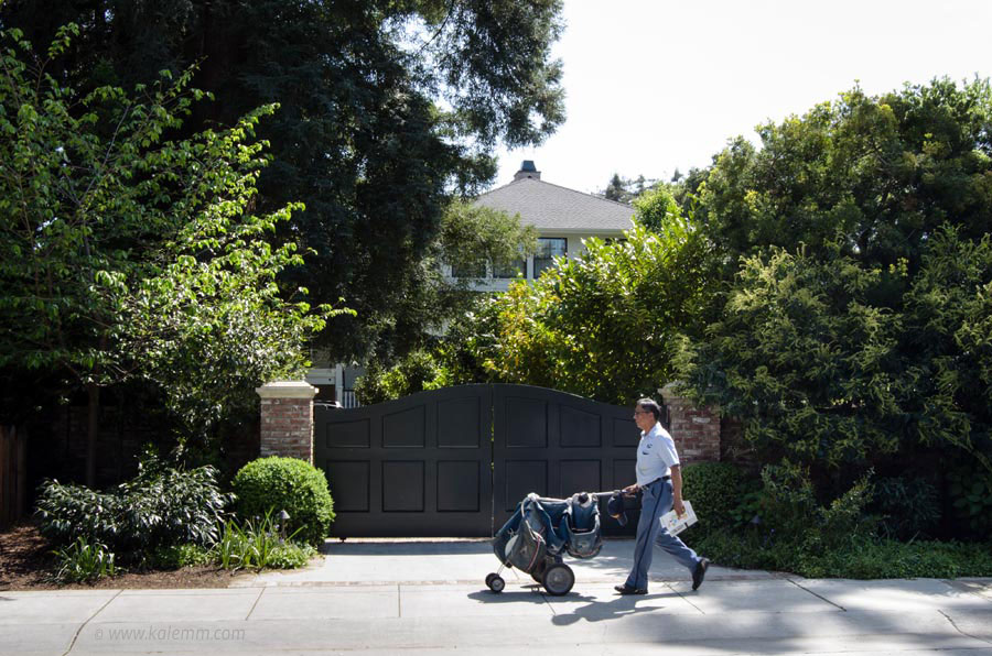 Current house of Facebook founder Mark Zuckerberg in Palo Alto