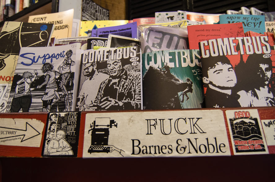 Bound Together, book store, Haight Ashbury, San Francisco