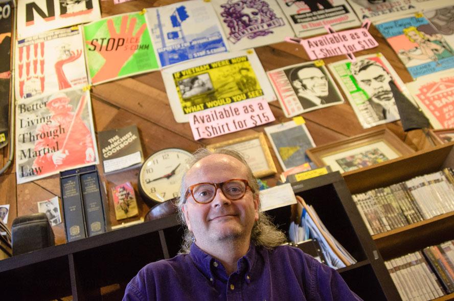 Joey Cain, Bound Together books, Haight Ashbury, San Francisco