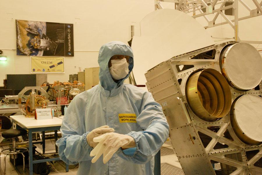 NASA-JPL-Clean-Room