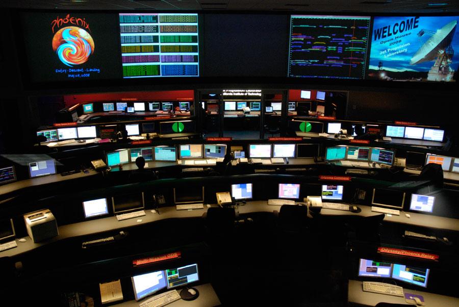 NASA-JPL-Control-Center
