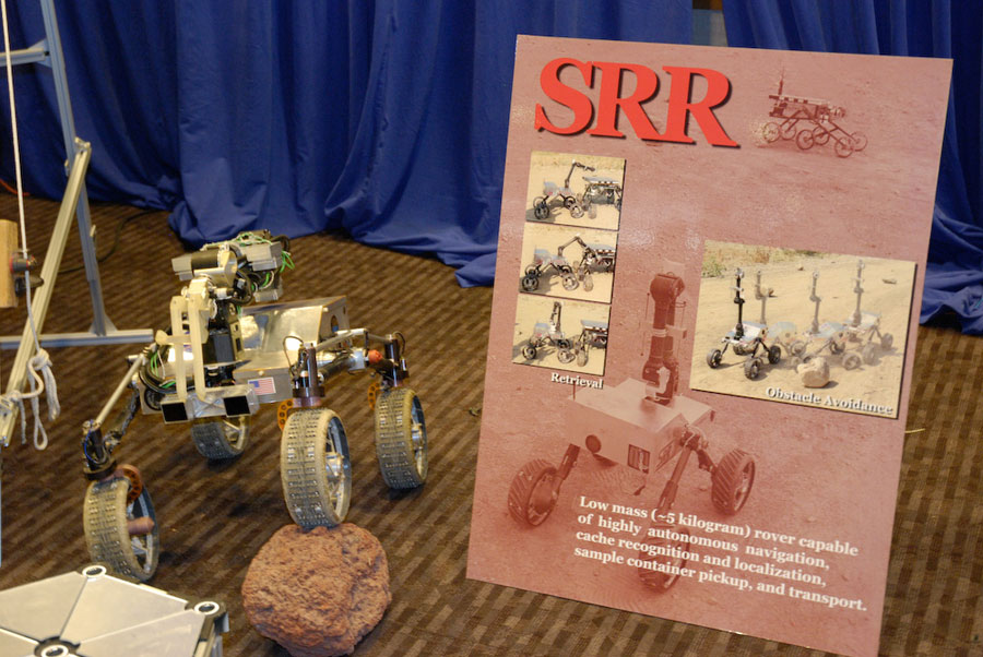 NASA-JPL-Experimental-Robot