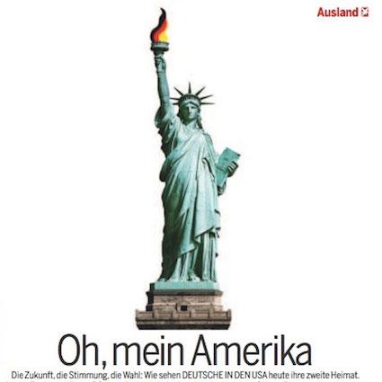 Oh mein Amerika - stern-Ausgabe 45-2012