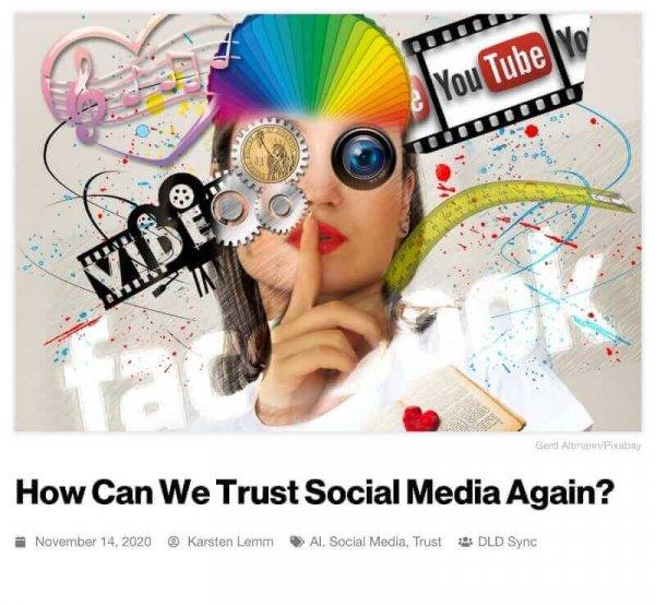 DLD Sync, recap, social media