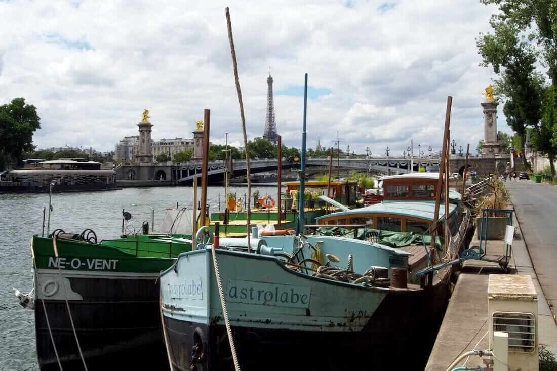 Ships, Paris, Eiffel Tower