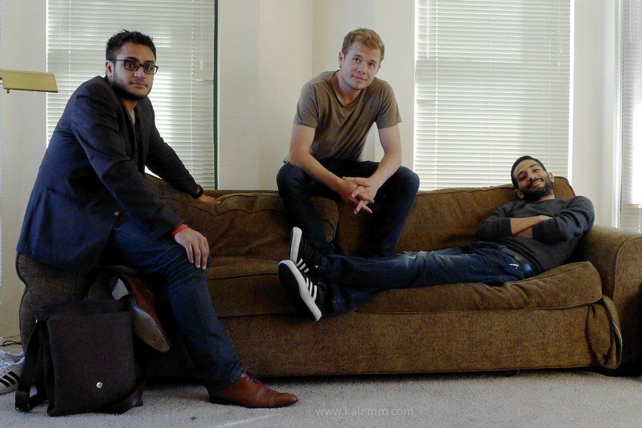 Startups: Audience.fm-Gründer in ihrer Wohnung in San Francisco