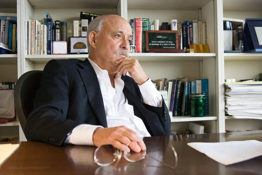 bestselling author and futurist Jeremy Rifkin in his office