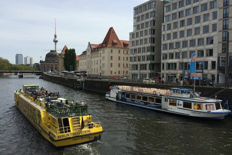 Berlin river boats
