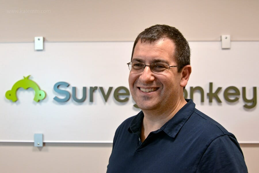 SurveyMonkey CEO David Goldberg, Logo, Palo Alto