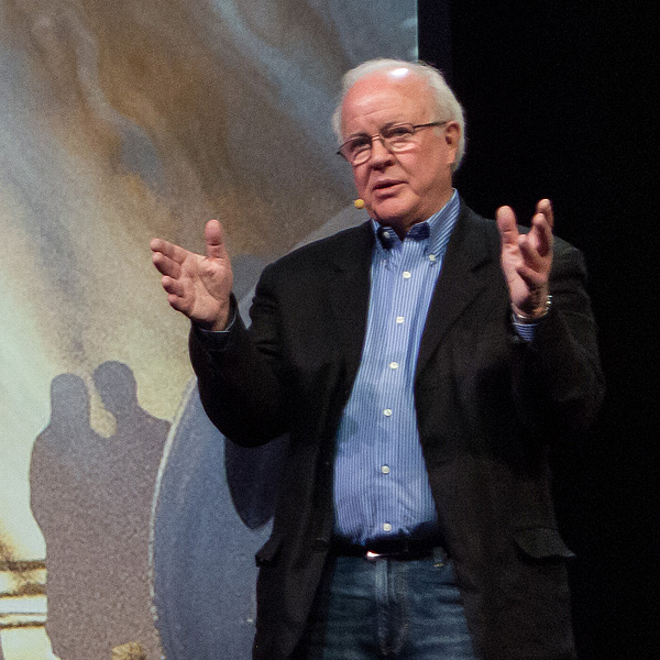 Douglas Trumbull bei einer Konferenz in Kalifornien