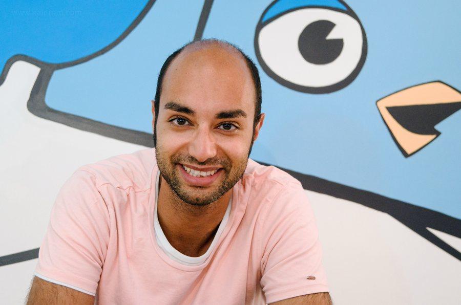 Ijad Madisch, Gründer von ResearchGate, in San Francisco