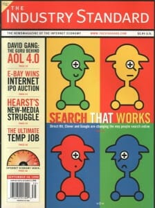 Industry Standard Cover 1998 Google