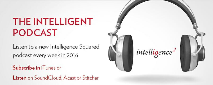 Intelligence Squared podcast logo