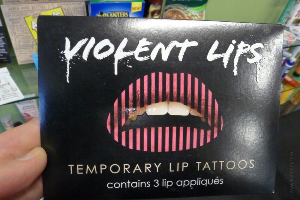 lip tattoo, product innovation