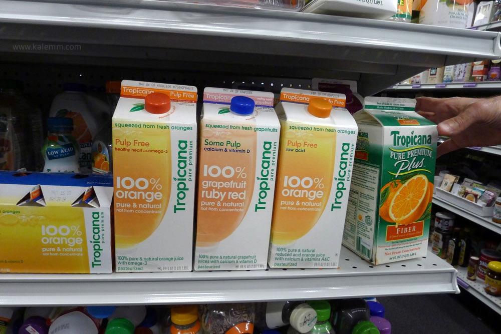 Failed products, Tropicana rebranding