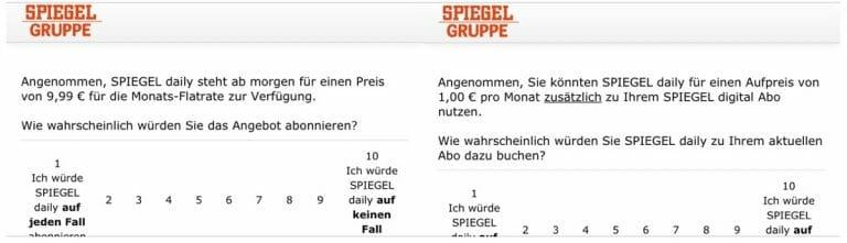 SPIEGEL-Daily-Umfrage