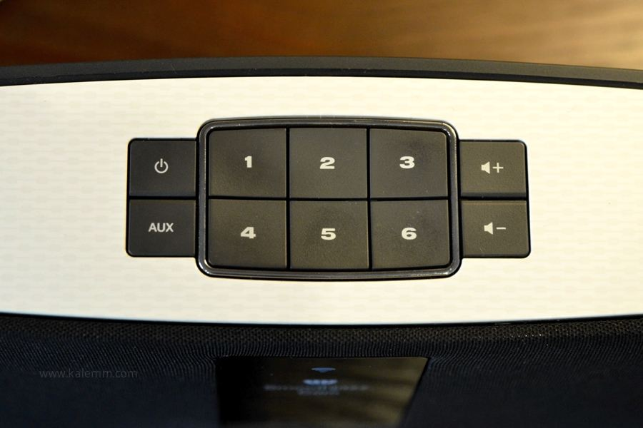 Station buttons on Bose SoundTouch