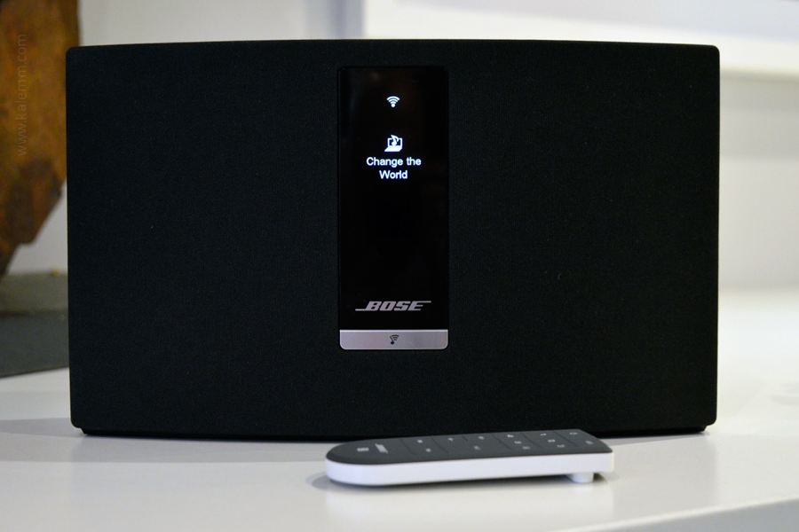 Bose SoundTouch speaker with remote control