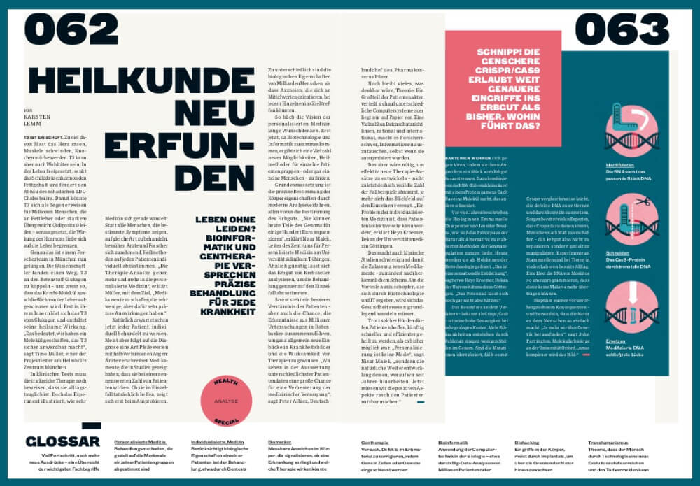 WIRED Germany; Special; Medizin